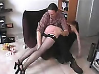 Spanking discredit. filthy verdant slut