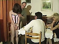 Spanking Shame. 2 naughty girls spanked