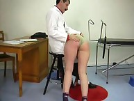 Spanking Shame. Beautiful young miss