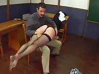 Spanking Shame. 2 tearful naughty girls