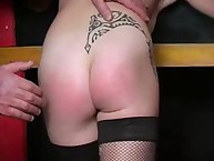 Spanking Shame. Little bottom