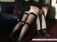 Become man was chagrined with an increment of spanked away from hairbrush.