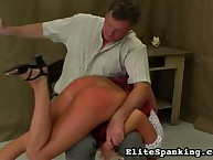 Bent now also Spanked