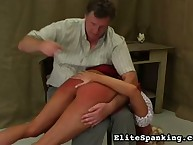 Bent Over And Spanked