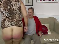 English pervert spanked emerge as blonde