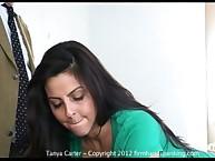 36 stroke punishment for bad teen Tanya Carter