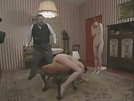 Skinny Girl is Bound and Brutally Caned