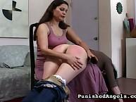 Krissy got her engagement dunce punished