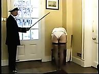 Navy Slut Brutally Punished by Cane