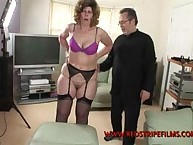 Lustful maiden gets spiteful spanks on her derriere
