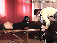 Rough Man Spank. Kitten babe whack
