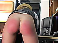 Katie's Bae Bum Caning