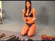 Teen victim choosing flogging tools