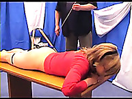 Bianca - thrashing experience with a cane