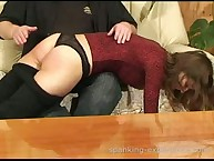 Livia & Viola getting spanked