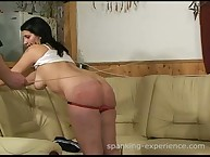 Connie & Livia, smoking girls spanking