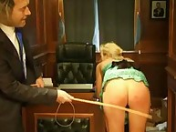 A Bureaucratic Beating for bad girl