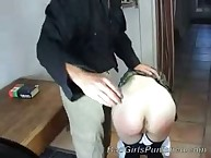 School girl was flogged extremely