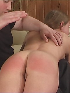 10 of Spanking Casting - Hard Spanking, Crying Girls