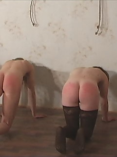 10 of Four Red Bums after Punishment