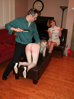 8 of Violet bends over for more punishment
