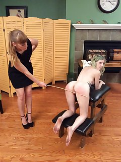 8 of Violet is caned