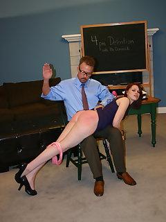 8 of Ashley Pratt otk spanking