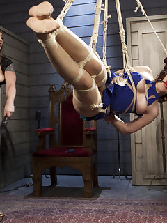 15 of Ingrid Mouth bound, beat & anally pounded